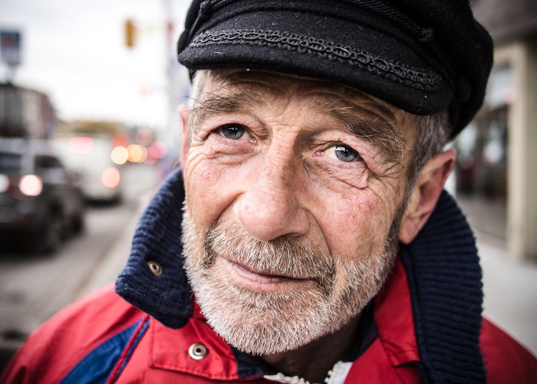 Toronto Street Portrait