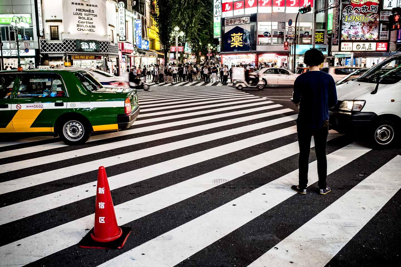 Japan Shinjuku Street Photography